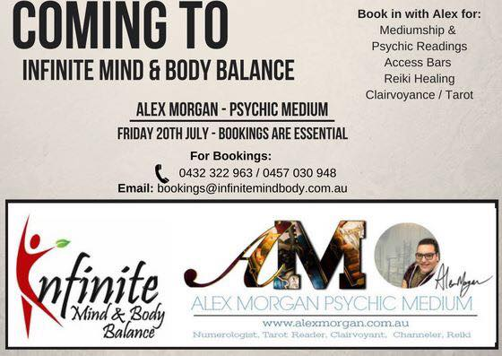 ALEX MORGAN IS COMING TO…. INFINITE Mind & Body Balance JULY 20TH for an exclusive day ONLY!!