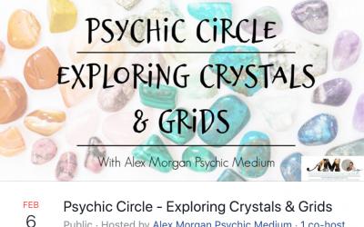 PSYCHIC CIRCLE – Exploring Crystals & Grids
