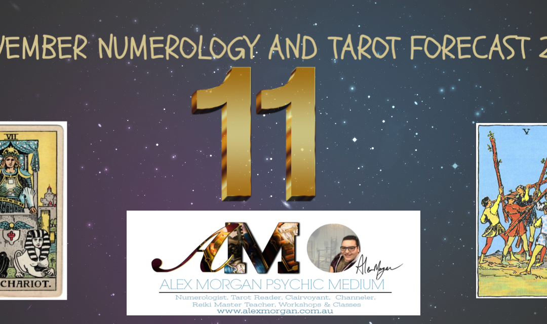 Nov 2018 Forecast – Numerology & Tarot