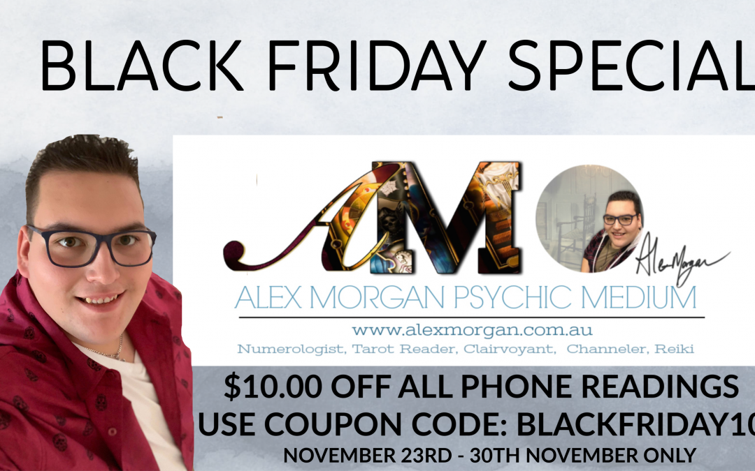 Black Friday EXCLUSIVE SPECIAL $10.00 Off